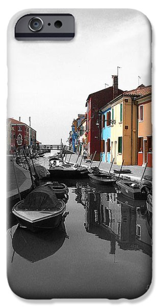 Venetian Canals iPhone Cases - Treasures of Life iPhone Case by Ivy Ho