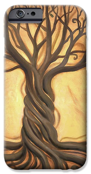 Tree of Life iPhone Case by Renee Womack