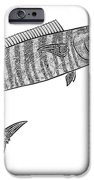 Tribal Ono iPhone Case by Carol Lynne