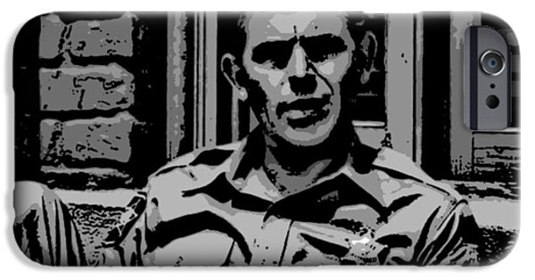 Andy Griffith Show iPhone Cases - Tribute to Andy iPhone Case by George Pedro