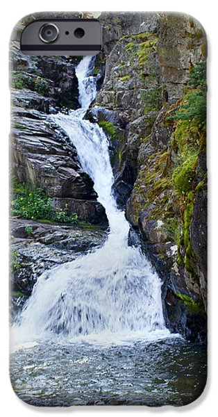 Tricky Falls iPhone Case by Marty Koch