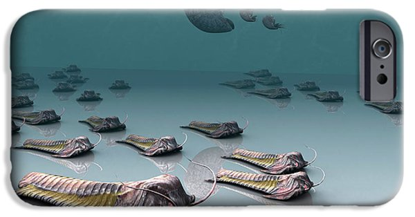 Virtual iPhone Cases - Trilobites iPhone Case by Christian Darkin