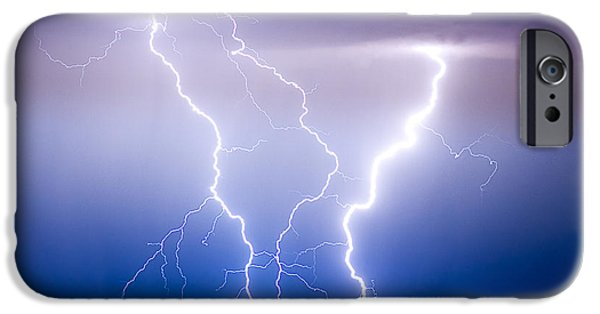 Striking Photography iPhone Cases - Triple Lightning iPhone Case by James BO  Insogna