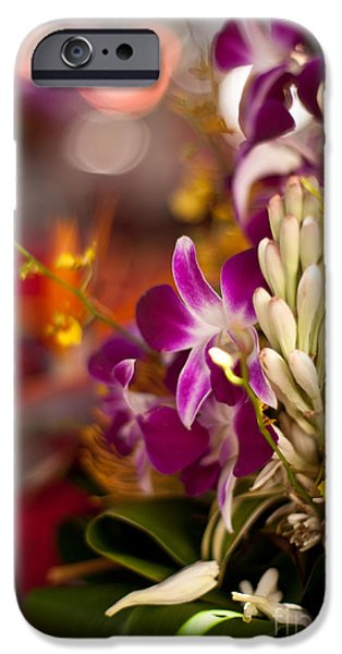 Big Island iPhone Cases - Tropical Collage iPhone Case by Mike Reid
