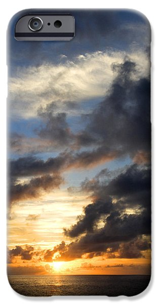 Canary iPhone Cases - Tropical Sunset iPhone Case by Fabrizio Troiani