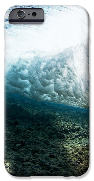 Tropical Wave Curl iPhone Case by Dave Fleetham - Printscapes