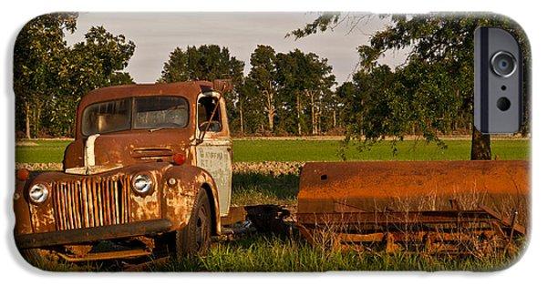 Arkansas iPhone Cases - Truck and Tank 31 iPhone Case by Douglas Barnett