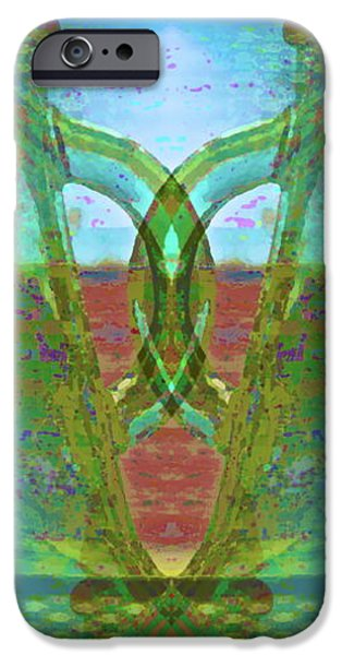 Abstract Forms iPhone Cases - True Form iPhone Case by Gwyn Newcombe