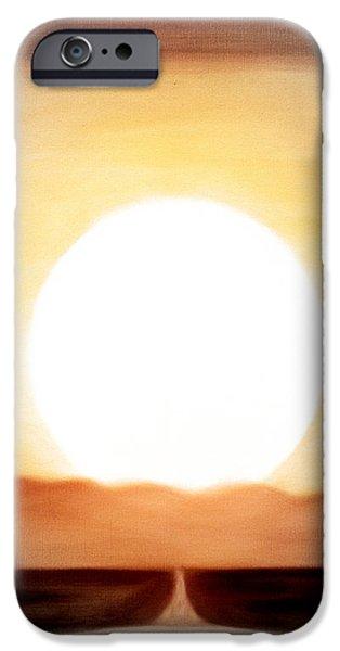 True God iPhone Case by Gina De Gorna