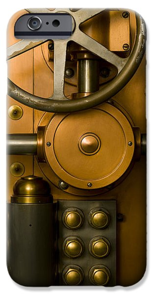 Tumbler Bank Vault Door iPhone Case by Adam Crowley