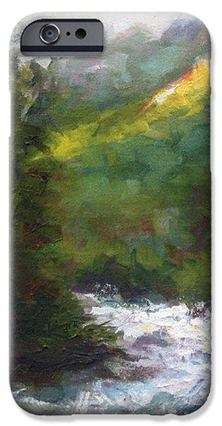 Turbulence iPhone Case by Talya Johnson