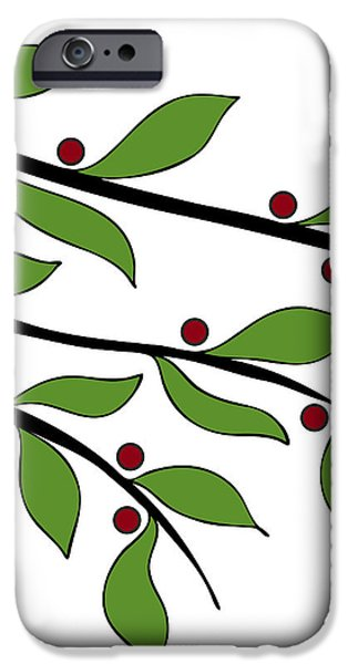 Twigs iPhone Case by Frank Tschakert