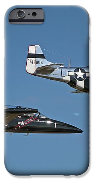 Two Generations of Aircraft iPhone Case by Kenneth Albin