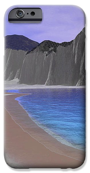 Two Seagulls Fly Over A Beautiful Ocean iPhone Case by Corey Ford
