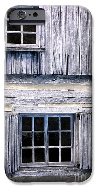 Cabin Window iPhone Cases - Two Windows iPhone Case by Paul W Faust -  Impressions of Light