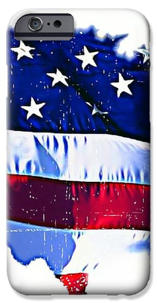 U. S. A. iPhone Case by Lauranns Etab