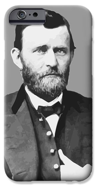 Ulysses S Grant iPhone Case by War Is Hell Store