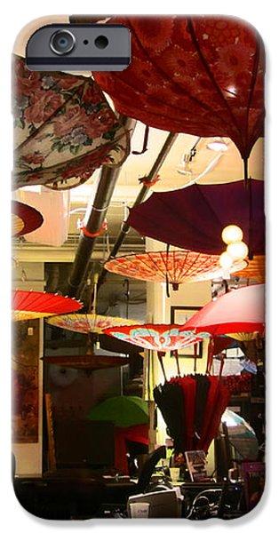 Umbrella Art iPhone Case by Kym Backland