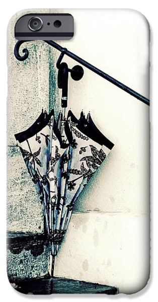 Umbrella iPhone Cases - Umbrella iPhone Case by Joana Kruse