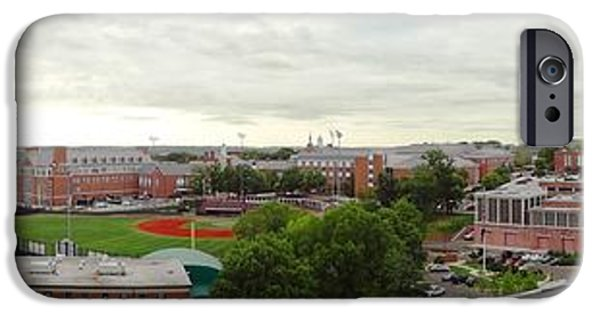 D.c. iPhone Cases - UMD Mid Campus iPhone Case by Christopher Kerby