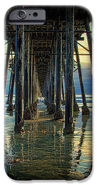 Under the Boardwalk iPhone Case by Chris Lord