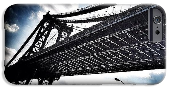 Under The Bridge iPhone Case by Christopher Leon