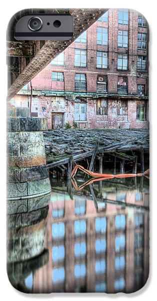 Charles River iPhone Cases - Under the Bridge  iPhone Case by JC Findley
