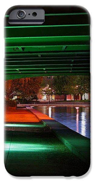 Under the Bridge iPhone Case by Joann Vitali