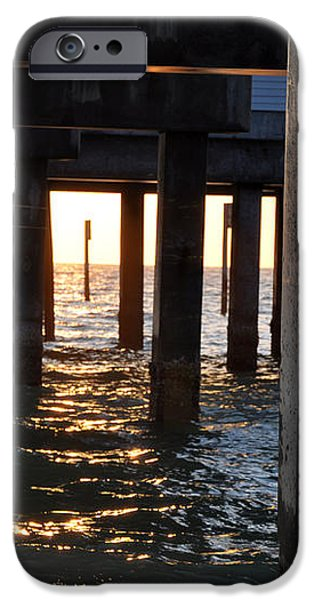 Under the Pier iPhone Case by Bill Cannon