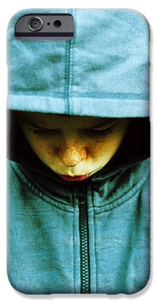 Unhappy Youth iPhone Case by Kevin Curtis
