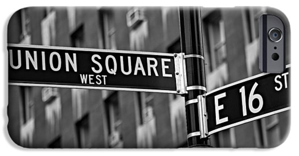 Union Square iPhone Cases - Union Square West iPhone Case by Susan Candelario