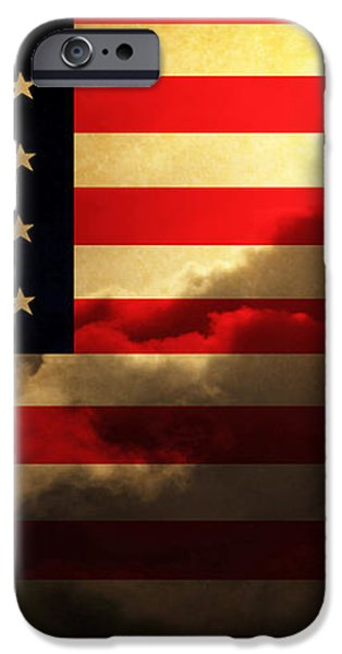 United States of America . Land of The Free iPhone Case by Wingsdomain Art and Photography