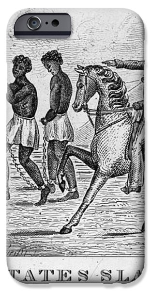 United States Slave Trade iPhone Case by Photo Researchers
