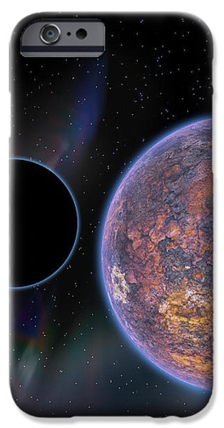 Unknown Worlds iPhone Case by Barry Jones