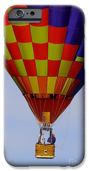 Hot Air Balloon iPhone Cases - Untethered iPhone Case by Robert Frederick