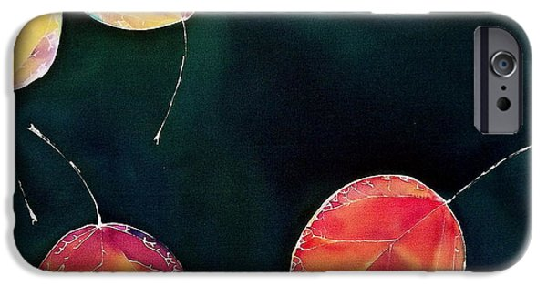 Fall Tapestries - Textiles iPhone Cases - Untitled iPhone Case by Carolyn Doe