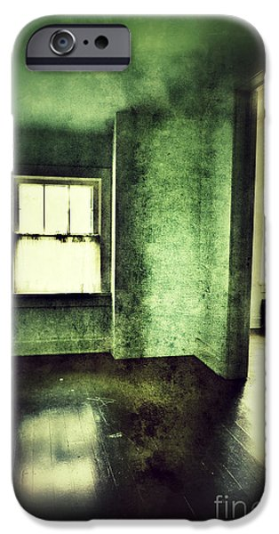 Upstairs Hallway in Old House iPhone Case by Jill Battaglia