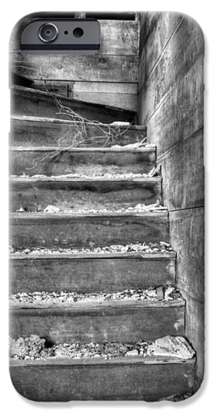 Abandonment iPhone Cases - Upstairs  iPhone Case by JC Findley