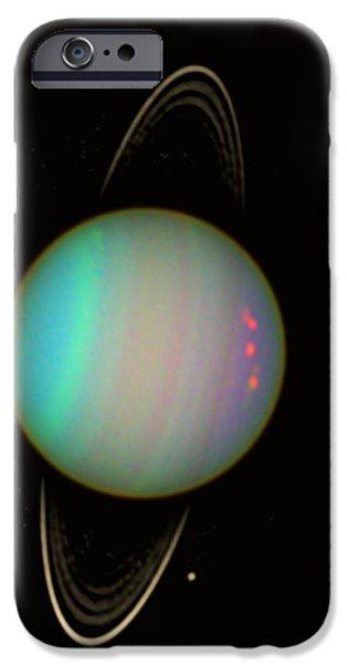 Uranus iPhone Case by Nasaesastscie.karkoschka, U.arizona