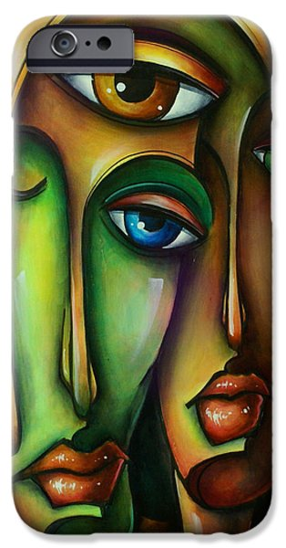 Urban Expressions iPhone Case by Michael Lang
