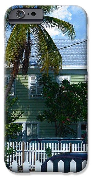 Urban Key West  iPhone Case by Susanne Van Hulst