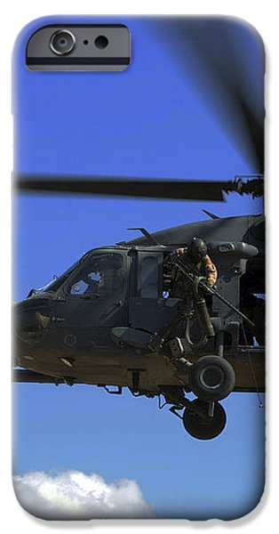 U.s. Air Force Pararescuemen iPhone Case by Stocktrek Images