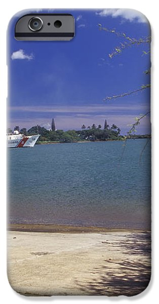 U.s. Coast Guard Cutter Jarvis Transits iPhone Case by Michael Wood