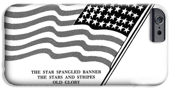Old Glory iPhone Cases - U.s. Flag iPhone Case by Granger
