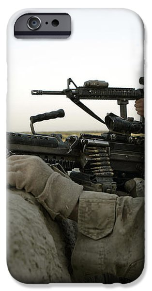 U.s. Marines Observe The Movement iPhone Case by Stocktrek Images
