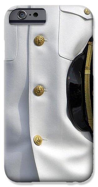 U.s. Naval Academy Midshipman In Dress iPhone Case by Stocktrek Images