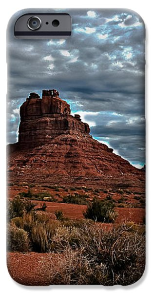 Valley Of The Gods II iPhone Case by Robert Bales