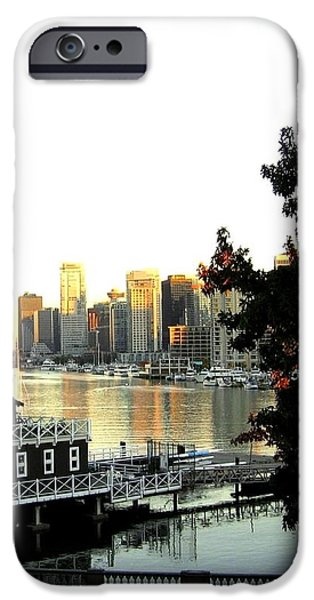 Vancouver At Sundown iPhone Case by Will Borden