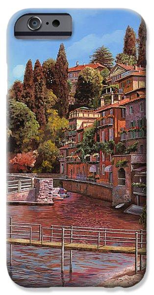 Varenna on Lake Como iPhone Case by Guido Borelli