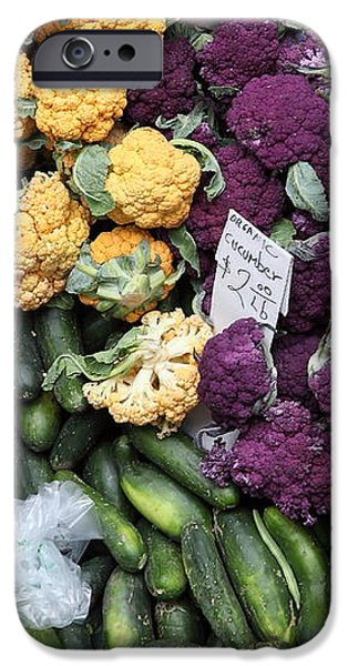 Variety of Fresh Vegetables - 5D17900 iPhone Case by Wingsdomain Art and Photography